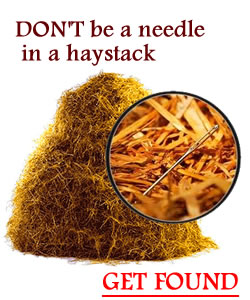 don't be a needle in a haystack